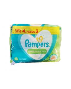 Pampers Pack Wipes Aroma Aloe Vera 192 Unidades