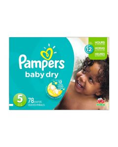 Pampers Baby Dry Super Pack S5 Talla XG 78 Unidades
